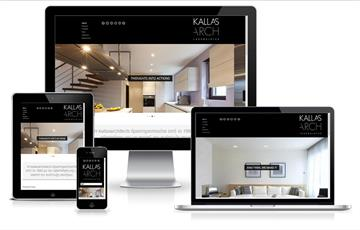 kallasarchitects.gr home page