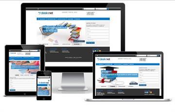 Responsive portal DeskNet